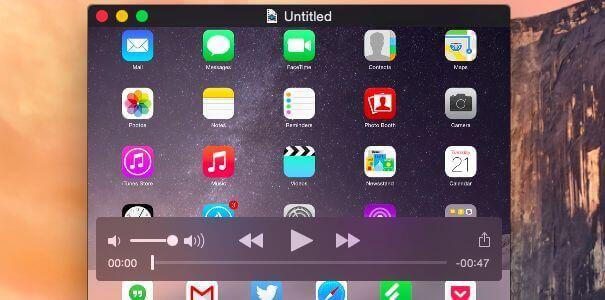 Как записать видео с экрана iPhone, iPad, iPod Touch с Мака