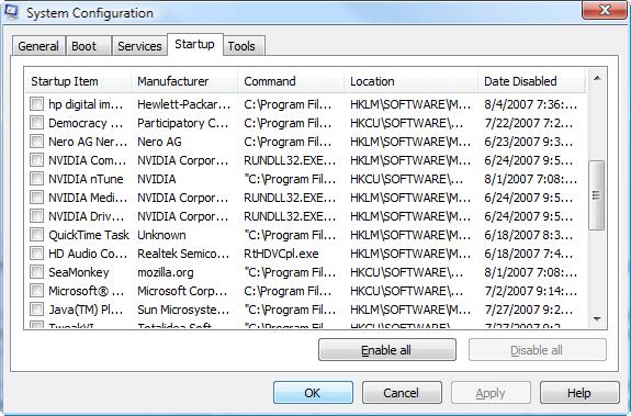 Как увидеть все программы в автозагрузке Windows?