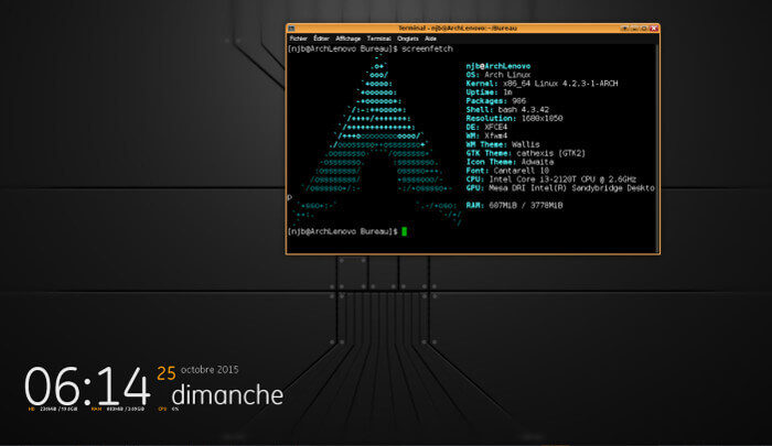 Screenfetch — информация о дистрибутиве в ASCII. Установка и использование в Ubuntu
