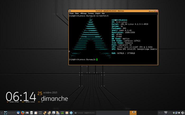 Screenfetch — информация о дистрибутиве в ASCII. Установка и использование в Ubuntu
