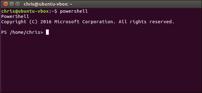 Как установить Microsoft PowerShell на Linux или OS X?